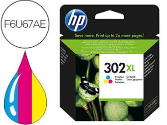 Cartutx tinta original HP 302 XL F6U67AE tricolor