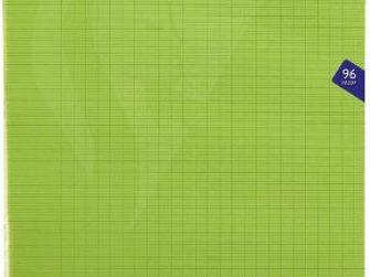 Llibreta grapada PP 48f 90g seyes 24x32 verd Clairefontaine Mimesys