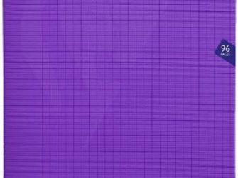 Llibreta grapada PP 48f 90g seyes 24x32 violeta Clairefontaine Mimesys