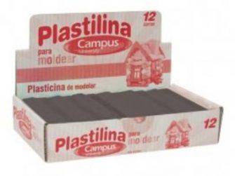 Plastilina negra 200g Campus