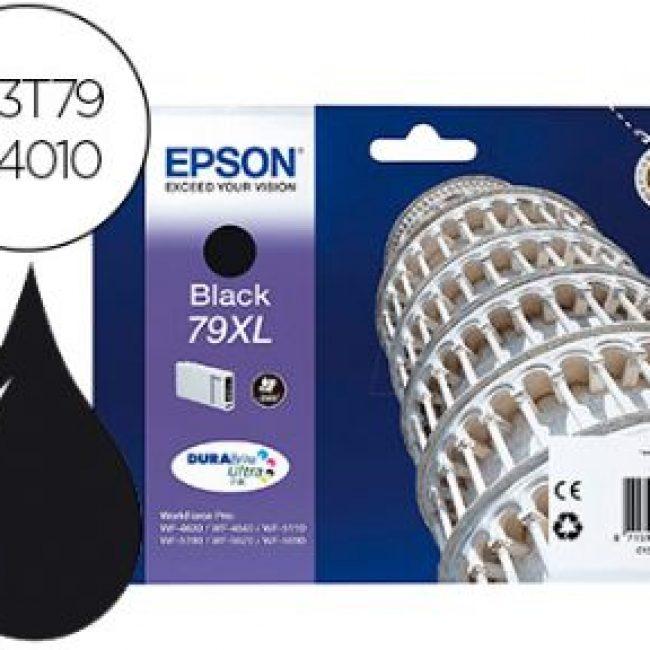 Cartutx tinta original Epson T7901 negre