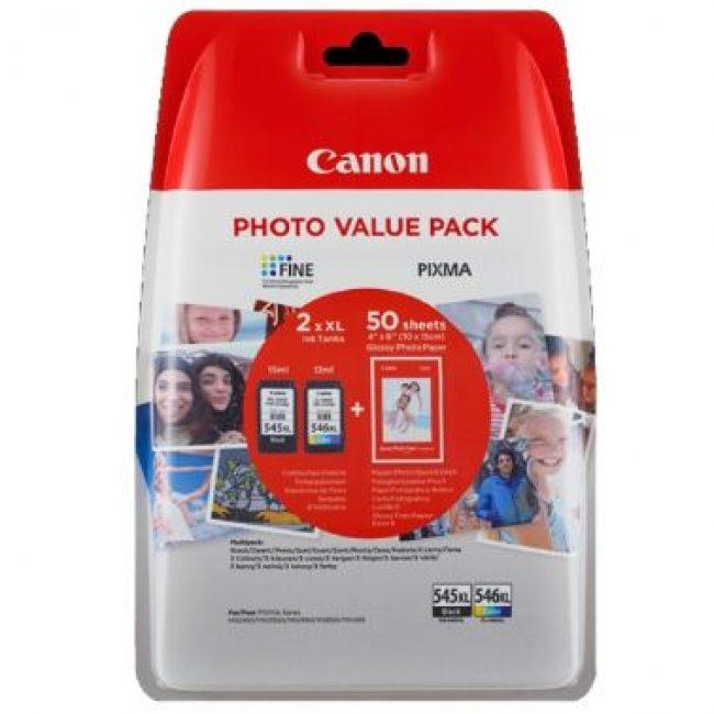 Cartutx tinta original Canon PGI545XL + CL546XL 8286B006