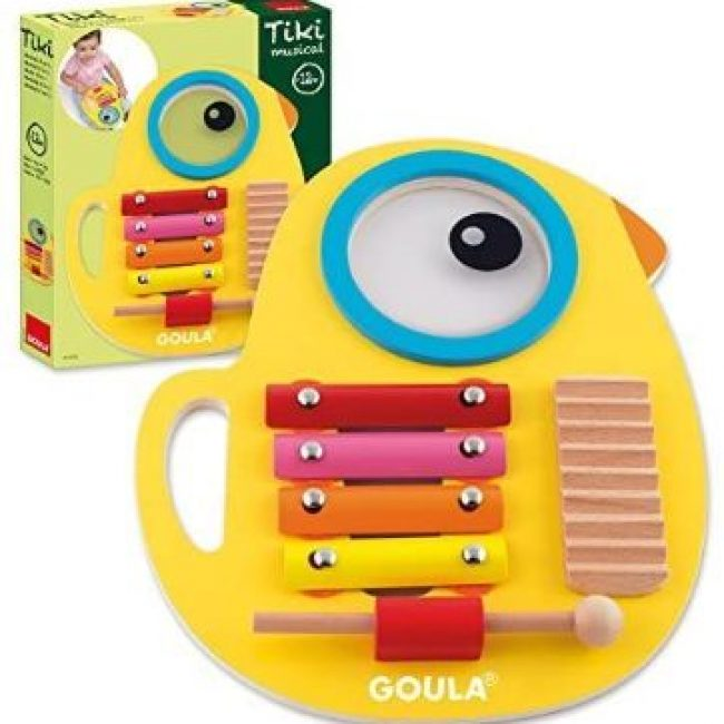 Joc musical Tiki 3 en 1 Goula 53132