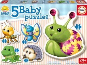 Puzzle Baby Animales del bosque 24+ Educa 15892