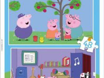Puzzles 2x48 Peppa Pig Educa 15920