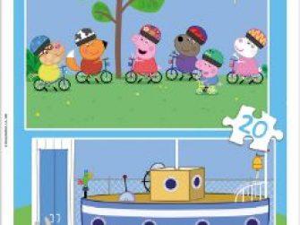 Puzzles 2x20 Peppa Pig Educa 15919