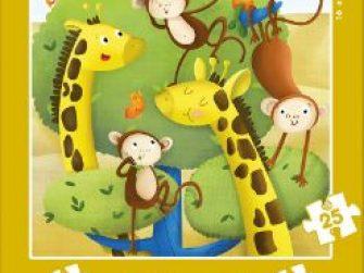 Puzzles Progresivos Animales salvajes 12+16+20+25 Educa 17147