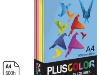 Paper Din A4 80g 15 colors surtits Campus -500 fulls-