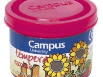 Tempera escolar magenta 40 ml Campus