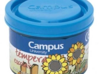 Tempera escolar blau cian 40 ml Campus