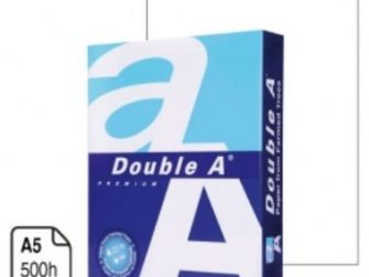 Paper Din A5 80g Double A -resma-