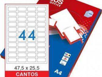 Etiquetes A4 47,5x25,5 Plus 2364 -caixa 100-