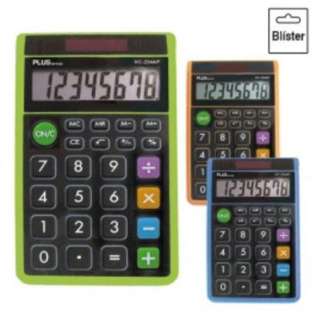 Calculadora 8 digits Plus SS-165 blau