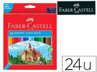 Llapis de colors assortits Faber Castell Castillo caixa-p 24-