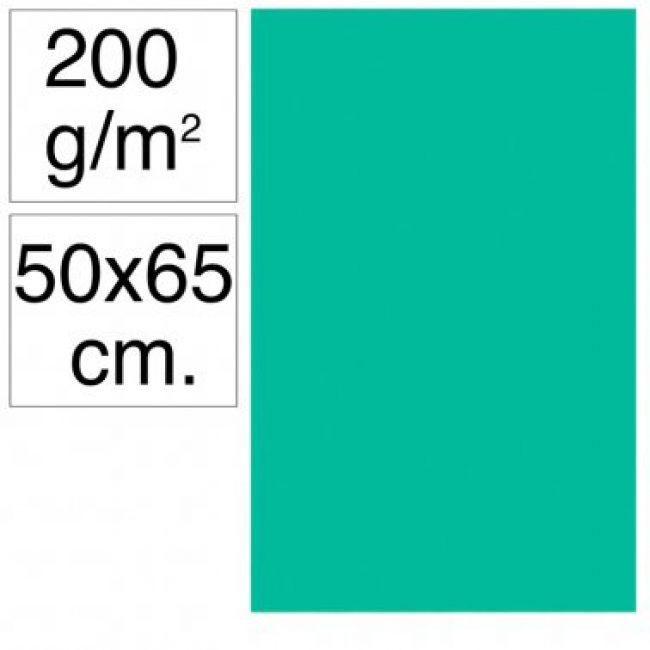 Cartolina 50x65 200gr verd menta Makro
