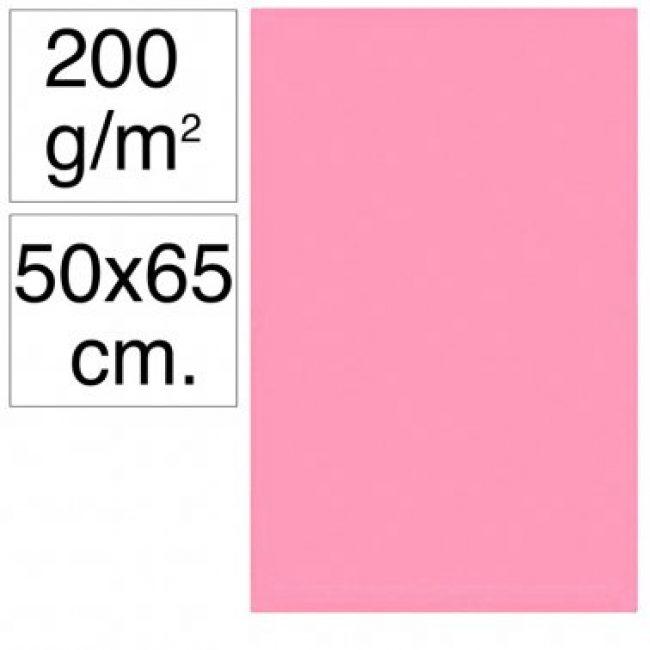 Cartolina 50x65 200gr rosa chicle Makro