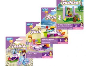 Joc construcció 24 peces Click-it Fashion