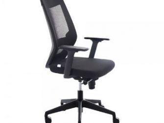 Cadira rodes amb braços negre Rocada RD-908/4