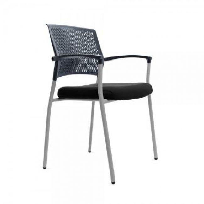 Cadira 4 potes negre negre RD906/4 Rocada