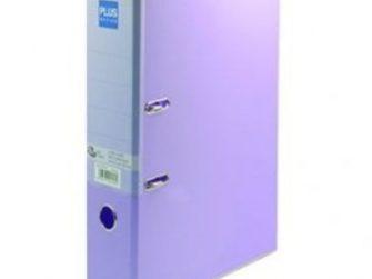 Arxivador palanca foli 2x65 (80mm) amb rado lila pastel Plus 181153