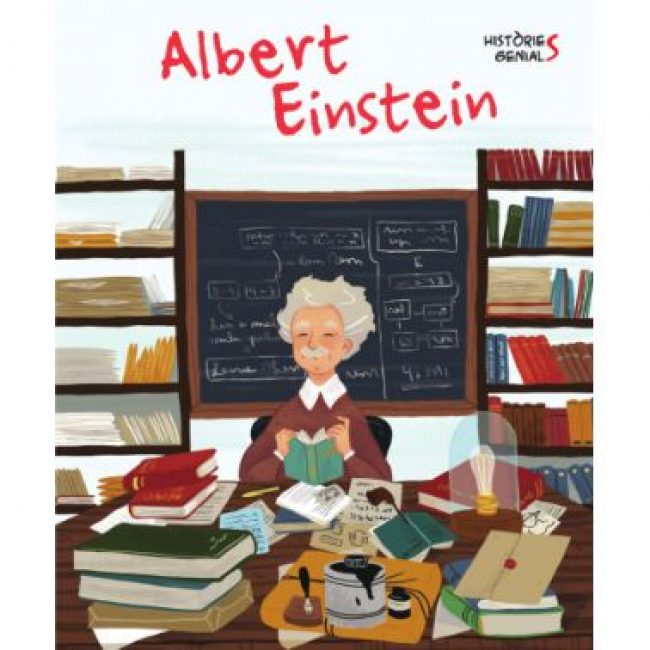 Històries genials, Albert Einstein, Vicens Vives