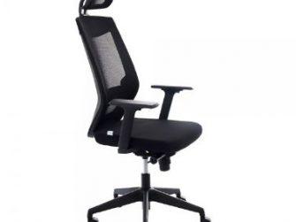 Cadira rodes amb braços negre i capçal Rocada RD-908/4+RD-908HR