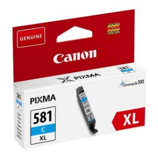 Cartutx tinta original Canon CLI-581XL cian 2049C001