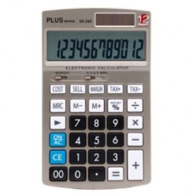 Calculadora 12 digits Plus Office SS-265