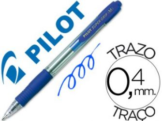 Bolígraf blau 1 mm Pilot Super Grip