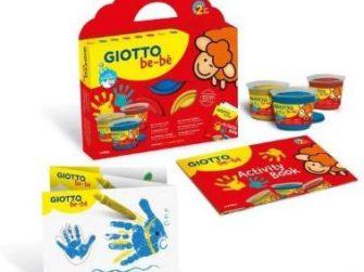 Pintura de dits + esponja Giotto be-bè