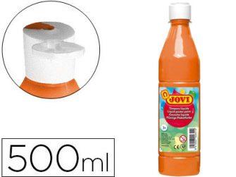 Tempera escolar taronja 500 ml Jovi