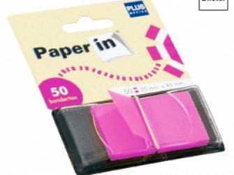 Banderetes separadores 25x48mm color rosa Plus 1640