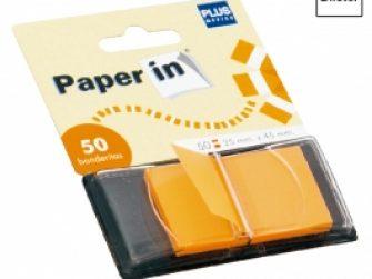 Banderetes separadores 25x48mm color taronja Plus 1651