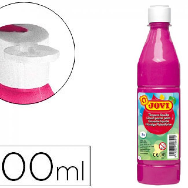 Tempera escolar magenta 500 ml Jovi