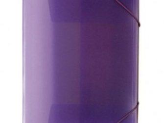 Carpeta gomes polipropile transparent violeta A4 Plus 180536