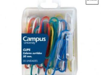 Clip labiado 50 mm colors -c 30- Campus