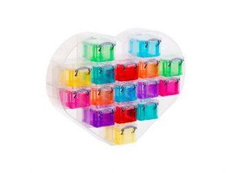 Caixa organitzadora Cor 390x295x95 16 caixes colors Archivo 2000