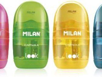 Maquineta 1 forat dipòsit i goma Milan Capsule Look