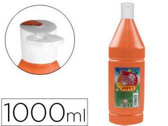 Tempera escolar taronja 1L Jovi