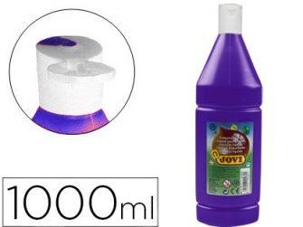 Tempera escolar violeta 1L Jovi