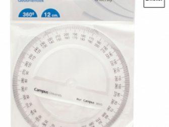 Cercle plàstic 12 cm Campus 600369