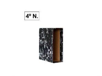 Caixa per arxivador palanca A5 natural negre Plus