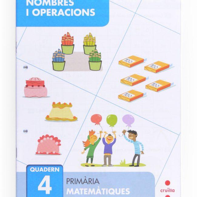 Nombres i operacions 4, primària, Cruïlla