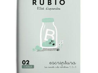 Quadern Escriptura 02, Rubio