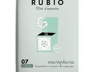 Quadern Escriptura 07, Rubio