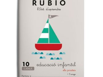 Quadern educació infantil 10, Rubio