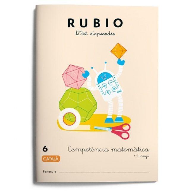 Quadern competència matemàtica 6, Rubio