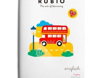 Quadern English 6 years beginners, Rubio