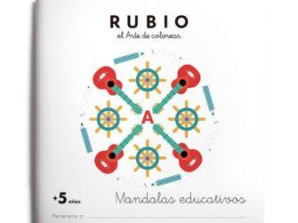 Quadern Mandalas +5 anys, Rubio