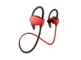 Auriculars amb micro Energy System Sport 1 color vermell 427758